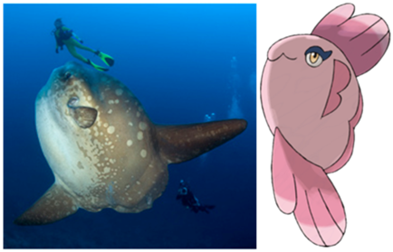 Sex up a sunfish and what have you got? [Mola mola vs Alomamola]