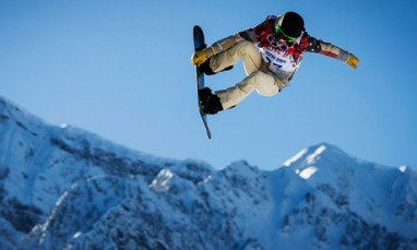 February 2014 Shaun White at the Sochi Olympics